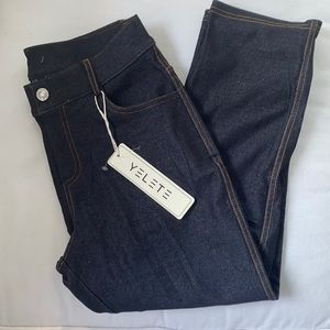 Jean jeggings with real front pockets !